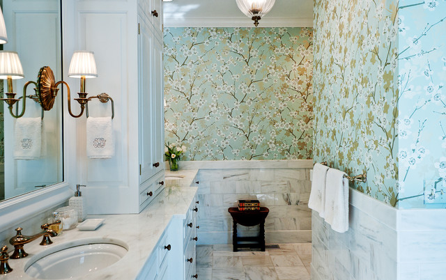 traditional bathroom by Leland Interiors, LLC