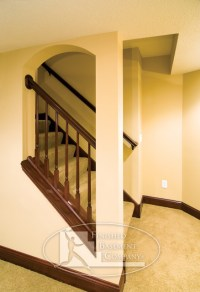 Basement Stairway - Traditional - Staircase - minneapolis ...