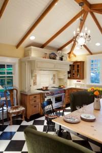 Plantation Inspired Kitchen - Traditional - Kitchen ...