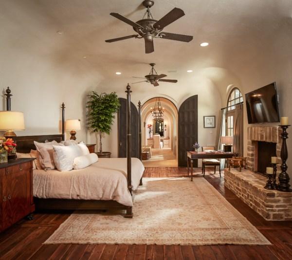 mediterranean bedroom design Bordley - Mediterranean - Bedroom - houston - by Thompson Custom Homes