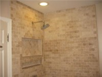 Travertine Bathroom - The House Decorating