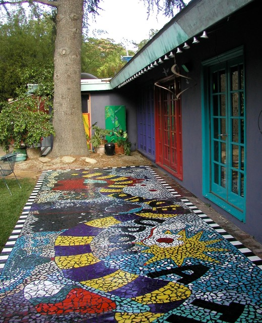 Patio Designs: Patio Mosaic Designs