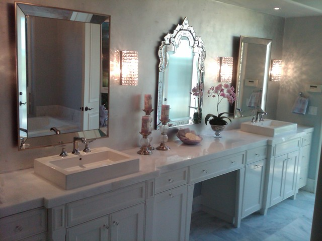 Parisian Glam Bathroom  Modern  Bathroom  san diego