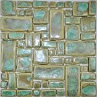 Hand Craft Porcelain Ceramic Mosaic Wall Tile Backsplash ...
