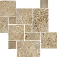 Antalya Noce Tumbled Travertine - Wall And Floor Tile ...