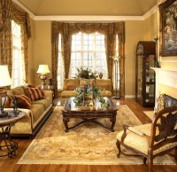 Old World Elegance - Traditional - Living Room - detroit ...