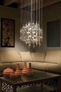 Eglo 89005A Alexandria Chrome 12 Light Chandelier