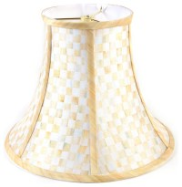 Parchment Check Shade - Small | MacKenzie-Childs ...
