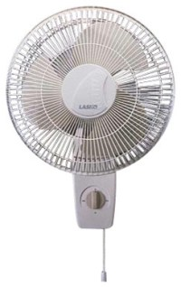 "Oscillating Wall-mount Fan 12"" - Contemporary - Small ..."