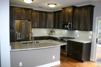 So. Tampa Elegant Charcoal Kitchen - Traditional - Kitchen ...