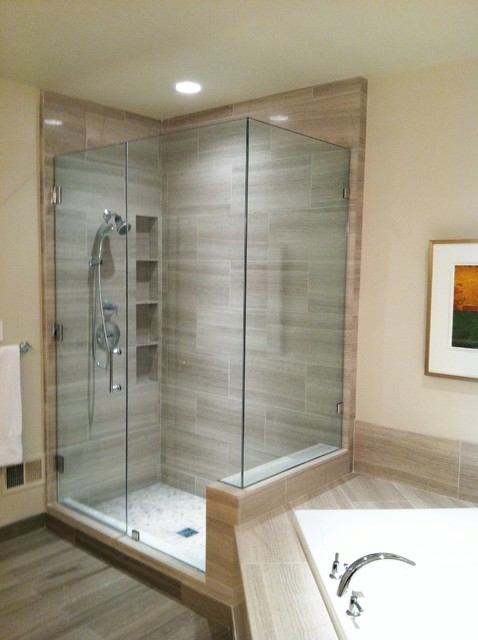 Shower  Contemporary  Bathroom  dc metro