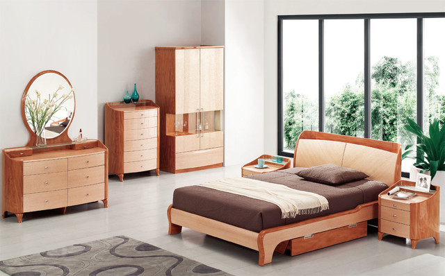 Exotic Wood Modern High End Furniture with Extra Storage ...
