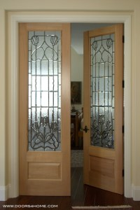 Interior Beveled Glass Doors - Traditional - Interior ...