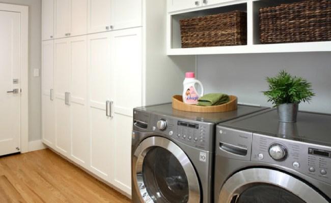 Wood Flooring In Laundry Room