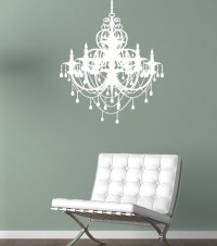 Chandelier Wall Decal - Modern - Wall Decals - by ...