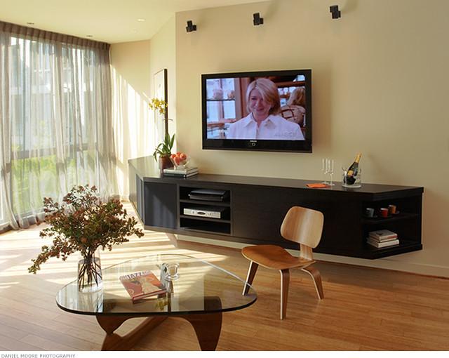 contemporary living room by Michael Merrill Design Studio, Inc