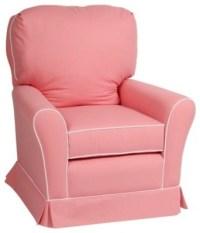 Little Castle Swivel Glider, Pink - Contemporary - Gliders ...