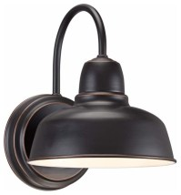 Barn Wall Urban Bronze Outdoor Wall Sconce