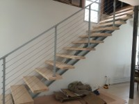 I Beam Staircase - Modern - Staircase - philadelphia - by ...