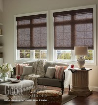 Good Housekeeping Natural Woven Shades: Rustic Collection ...