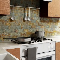 Slate subway tile - Rustic - Tile - new york - by Somertile