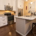 Style kitchen cabinets with ship lap style island modern kitchen
