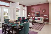Color of the Month: Decorating with Burgundy - Abode