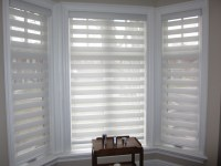 window coverings for bay windows 2017 - Grasscloth Wallpaper