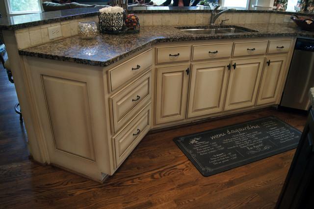 Ccff Kitchen Cabinet Finish Traditional Atlanta