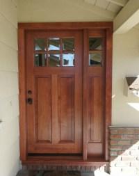 Exterior Simpson Door