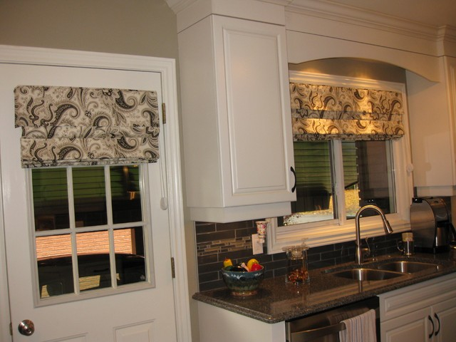Kitchen Window Treatments  Transitional  Kitchen