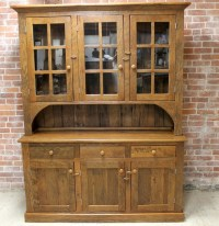 Reclaimed China Cabinets & Hutches - Rustic - China ...