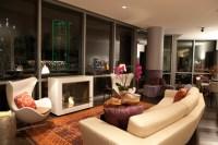 City Living High-Rise Condo - Modern - Living Room ...