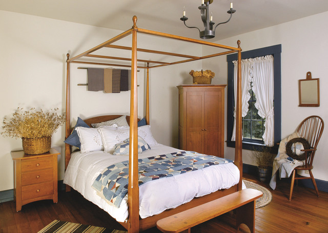 Shakerstyle Cherry Bedroom Furniture  Traditional