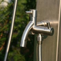 Outdoor Shower Company Hose Bibb with Spout - Modern ...