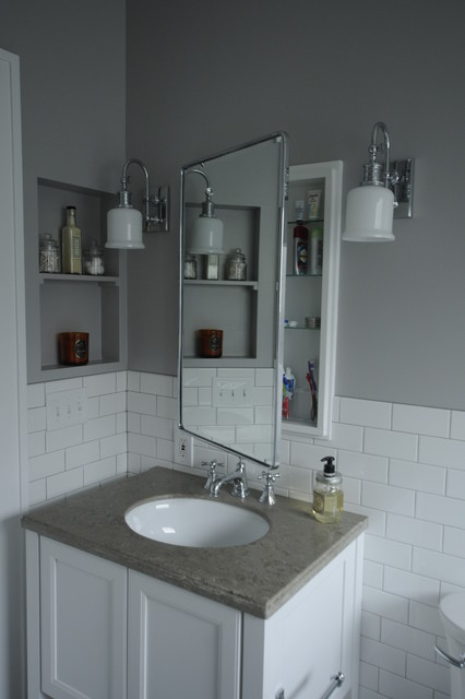 Small Master Bathroom Traditional Bathroom Seattle