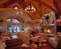 Custom Home - Southern Maine Adirondack Style Lake House ...