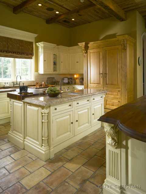 Clive Christian kitchen in Antique French Oak  Cream