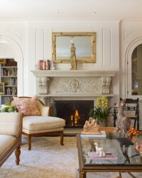 French Colonial Living Room