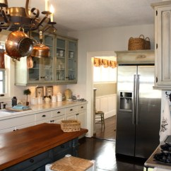 Pot Lights For Kitchen Oak Cabinet After Photo Of New French Country - Eclectic ...