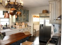 After Photo Of New French Country Kitchen - Eclectic ...