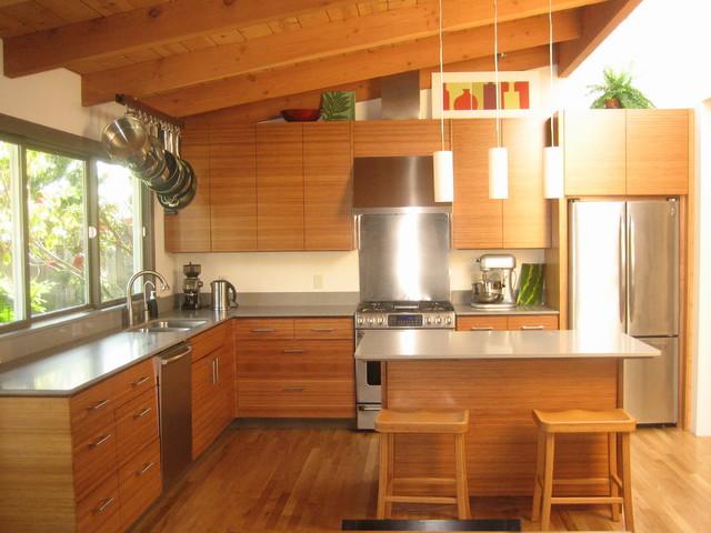 Bamboo Ikea Kitchen  Contemporary  Kitchen  San