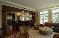 Does the transition between kitchen and living room depend ...