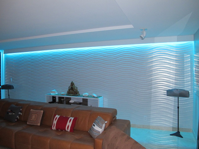 COLOR CHANGING LIVING ROOM LIGHTING Contemporary