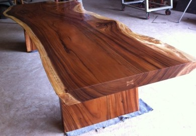 Wood Slab Table Modern