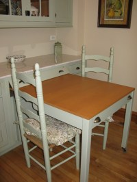 Hide-Away Kitchen Table