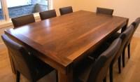 Solid Walnut, Handmade Dining Room Table By Innovative ...