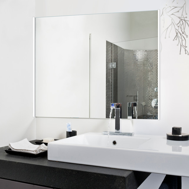 Twiggy Hinged Vanity Light  Contemporary  Bathroom