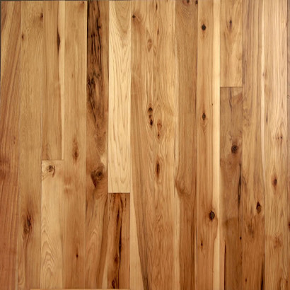 Unfinished Hickory Natural  Contemporary  Hardwood