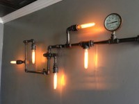 Steampunk - Industrial wall lamp - Industrial - montreal ...
